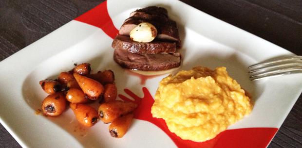magret de canard pur e de panais patate douce le monde dans l 39 assiette. Black Bedroom Furniture Sets. Home Design Ideas