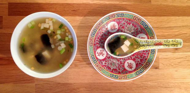 Soupe miso v g tarienne minute le monde dans l 39 assiette - Soupe miso ingredient ...
